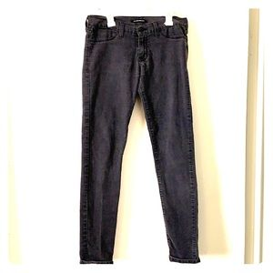 Flying monkey stretch greywash Jean!